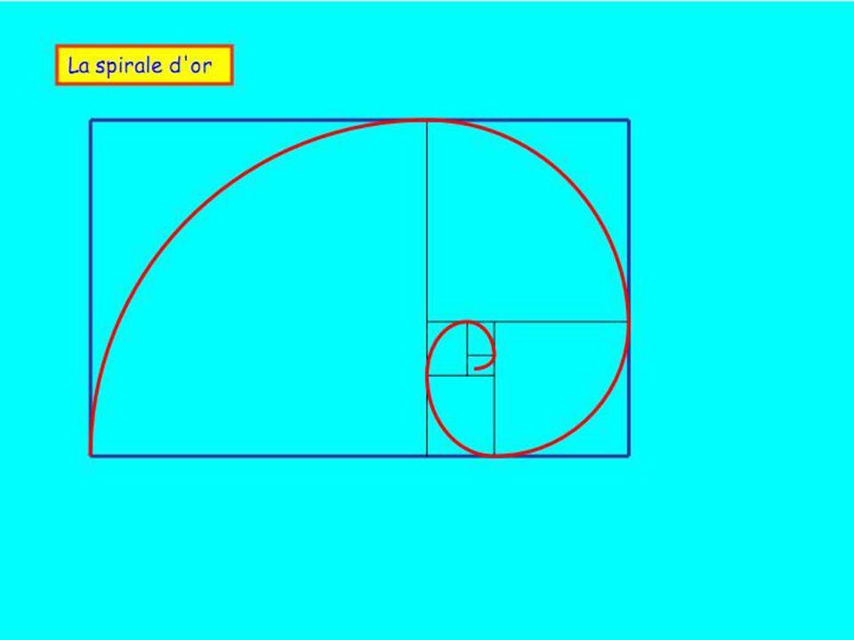 A BI O Pentagone régulier 1 0,618 BI A 1/2 1.Segment AB partagé en moyenne et extrême raison : AB/AI = 1,618 2.Tracé du cercle de rayon IA 3.OB est le côté du pentagone régulier inscrit