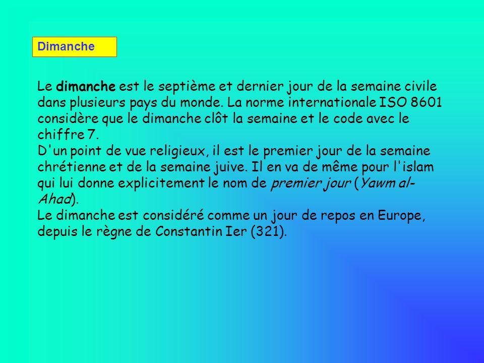 I - Martius, (mars) : 31 jours, nommé ainsi en l honneur du dieu romain Mars, II - Aprilis (avril) : 30 jours, dédiés à la déesse grecque Aphrodite, et désignant louverture de l année, III - Maius (mai) : 31 jours, en l honneur des sénateurs romains ou maiores, IV - Junius (juin) : 30 jours, en l honneur de la déesse romaine Junon, V - Quintilis (Juillet) : 31 jours, VI - Sextilis (aout) : 30 jours, VII - September (septembre) : 30 jours, VIII - October (octobre) : 31 jours, IX - November (novembre) : 30 jours, X - December (décembre) : 30 jours.