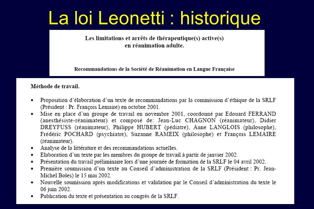 Lexclusion de lurgence du champ de la loi : confirmation de loption de larticle L1111-2 Article L1111-2 Toute personne a le droit d être informée sur son état de santé…..