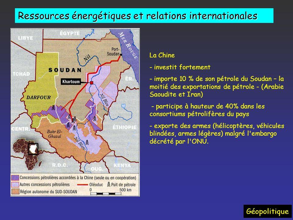 Changements dans les rapports Etats/ Compagnies Modifications déquilibres politiques Géopolitique « Le brésil découvre un eldorado pétrolier* » (OF 14