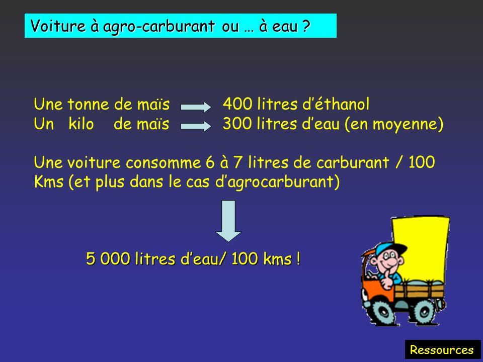 Ressources La France risque de devoir importer de la nourriture, sur une planète au climat de plus en plus imprévisible et où le volume des récoltes v