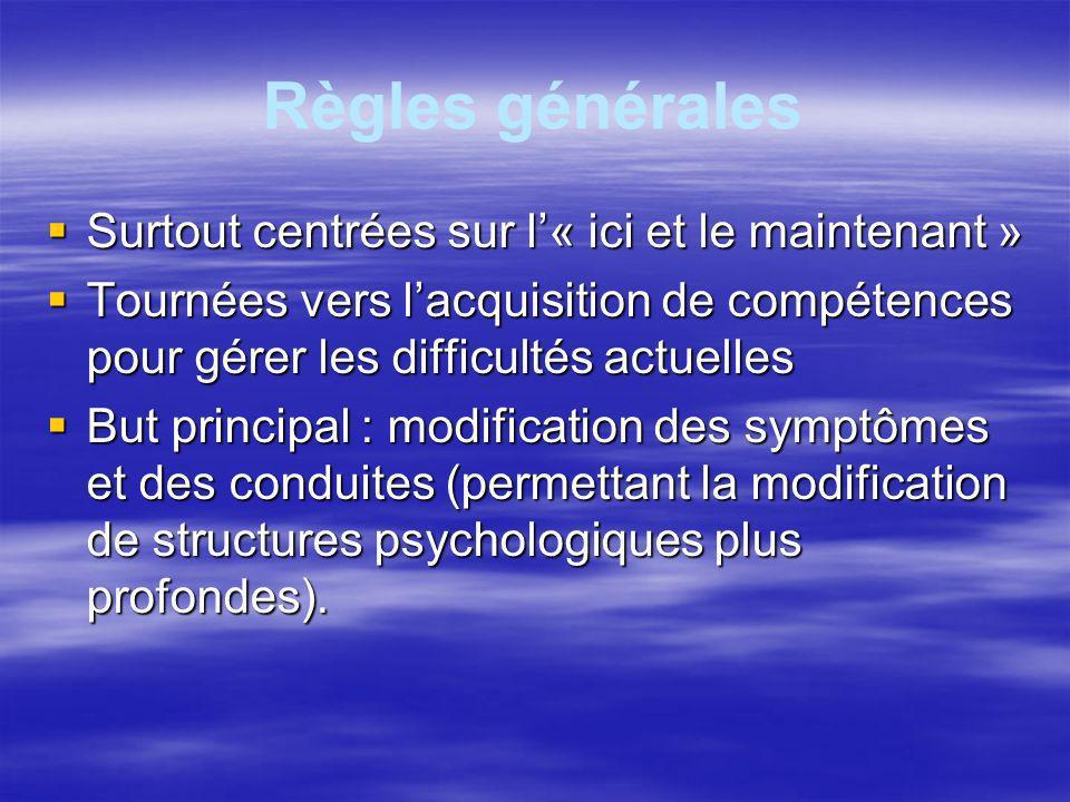Conditionnement Opérant Stim Réponse Conséquences Le sujet est actif Renforcement : augmente la probabilité de réponse –positif : R+ –négatif : R-