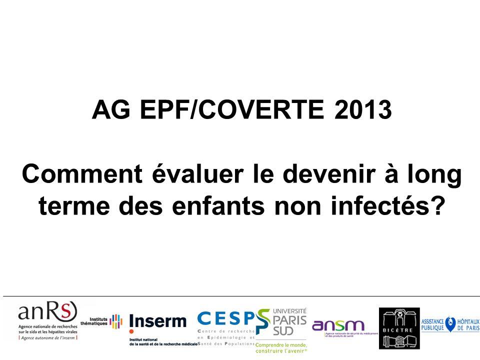 Questionnaires de suivi EPF (CO1 et CO11) 2 ans Q 18-24 mois reçus Concerne environ 75% des enfants