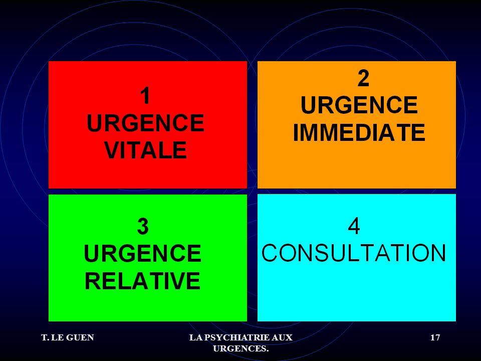 T. LE GUENLA PSYCHIATRIE AUX URGENCES. 17