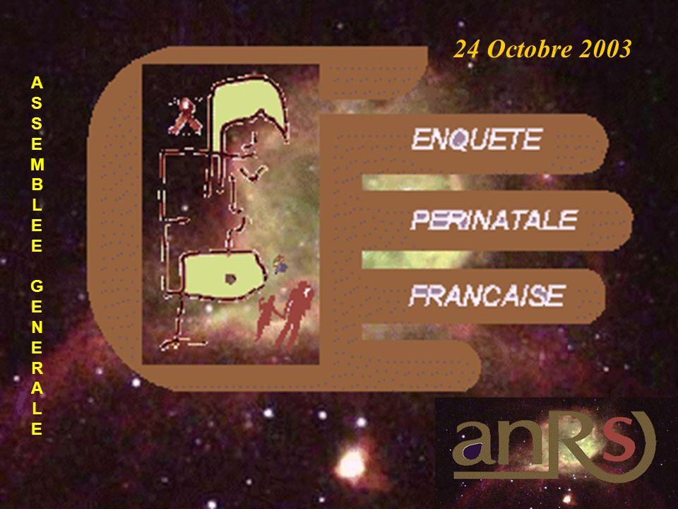 E.P.F ASSEMBLEE GENERALEASSEMBLEE GENERALE 24 Octobre 2003