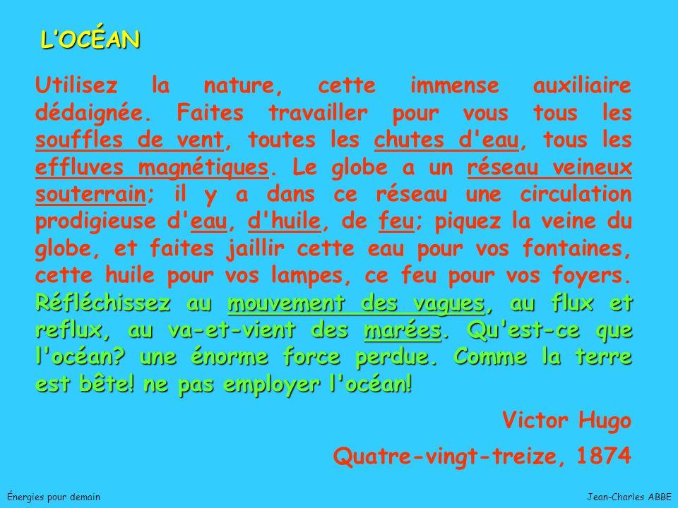 Jean-Charles ABBEÉnergies pour demain PILE A COMBUSTIBLE
