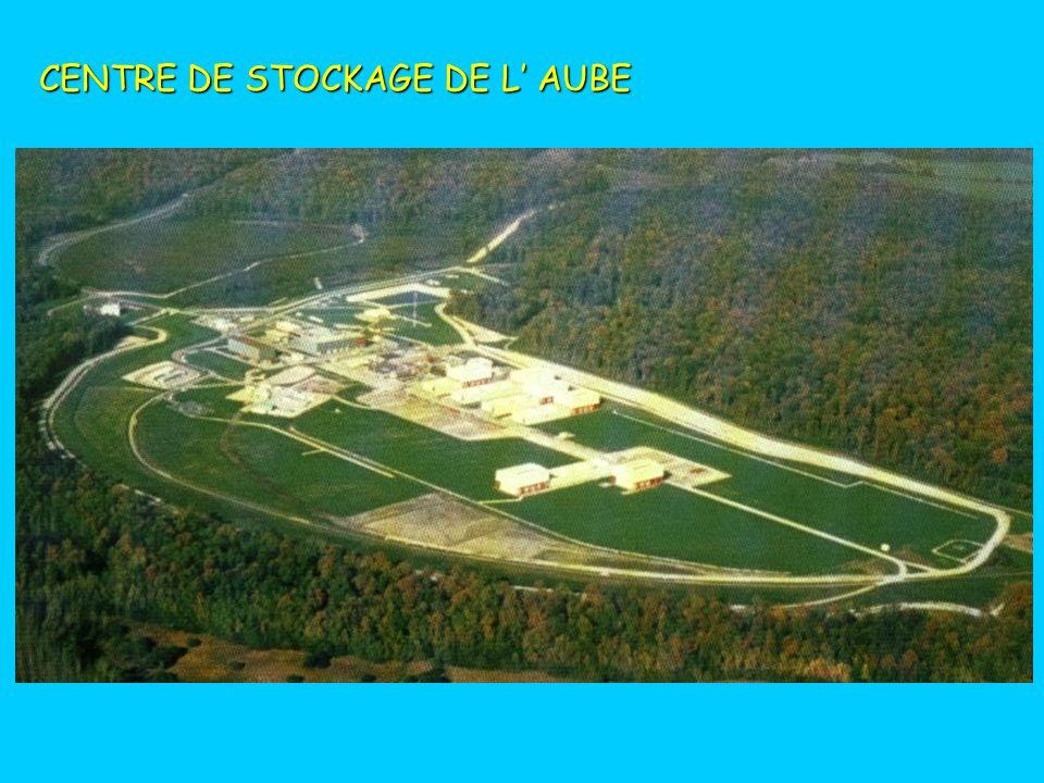 STOCKAGE EN SURFACE DES DÉCHETS FMA