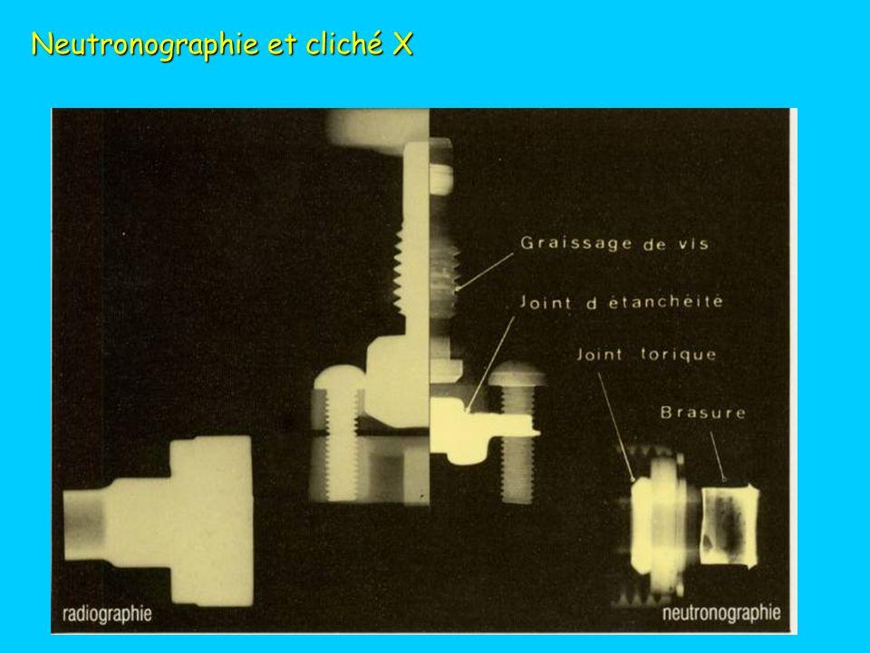 Neutronographie : fleur de lys