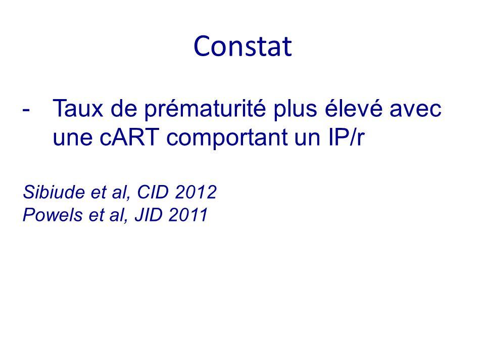 Besoin dévaluer un 3 ème agent alternatif aux IP/r Quel agent ?