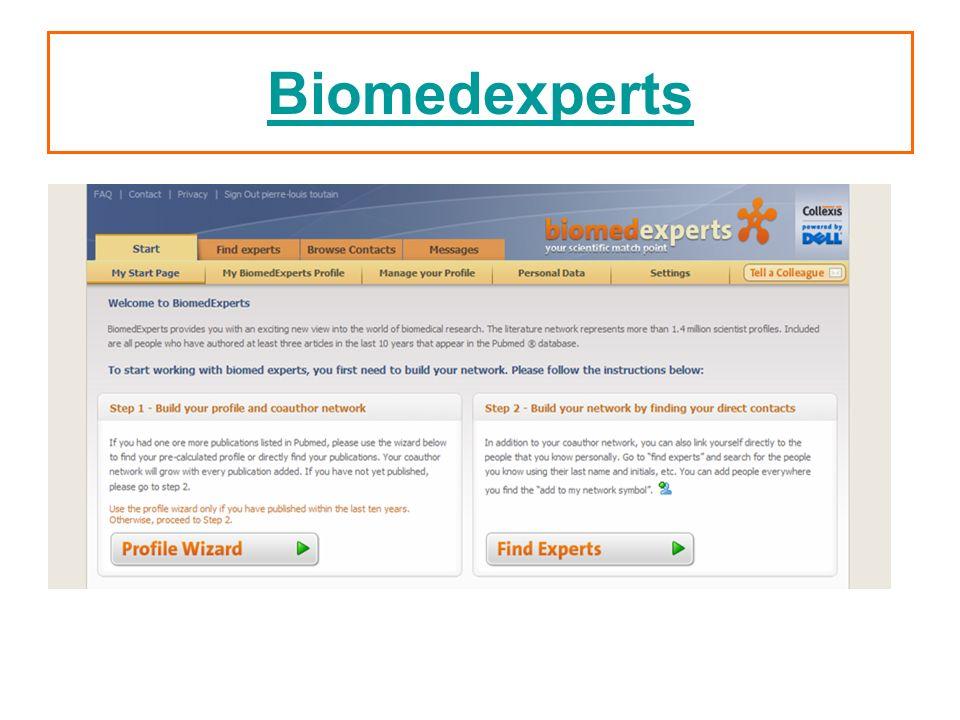 Biomedexperts