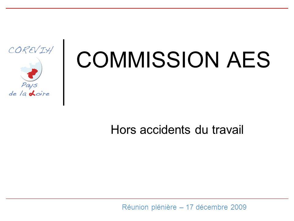 COMMISSION AES Hors accidents du travail Réunion plénière – 17 décembre 2009