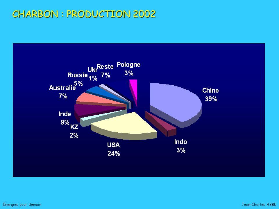 Jean-Charles ABBEÉnergies pour demain CHARBON : PRODUCTION 2002