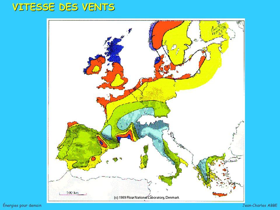 Jean-Charles ABBEÉnergies pour demain VITESSE DES VENTS