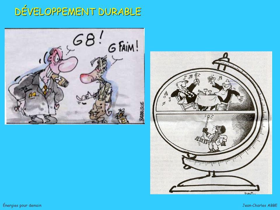 Jean-Charles ABBEÉnergies pour demain DÉVELOPPEMENT DURABLE