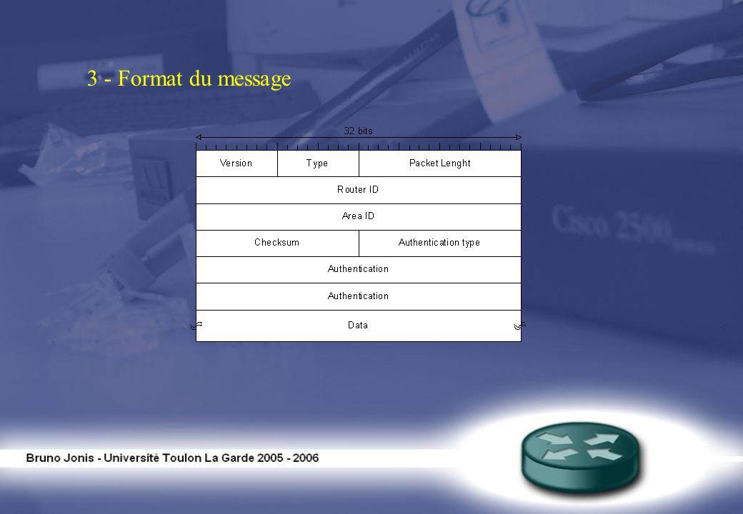 3 - Format du message