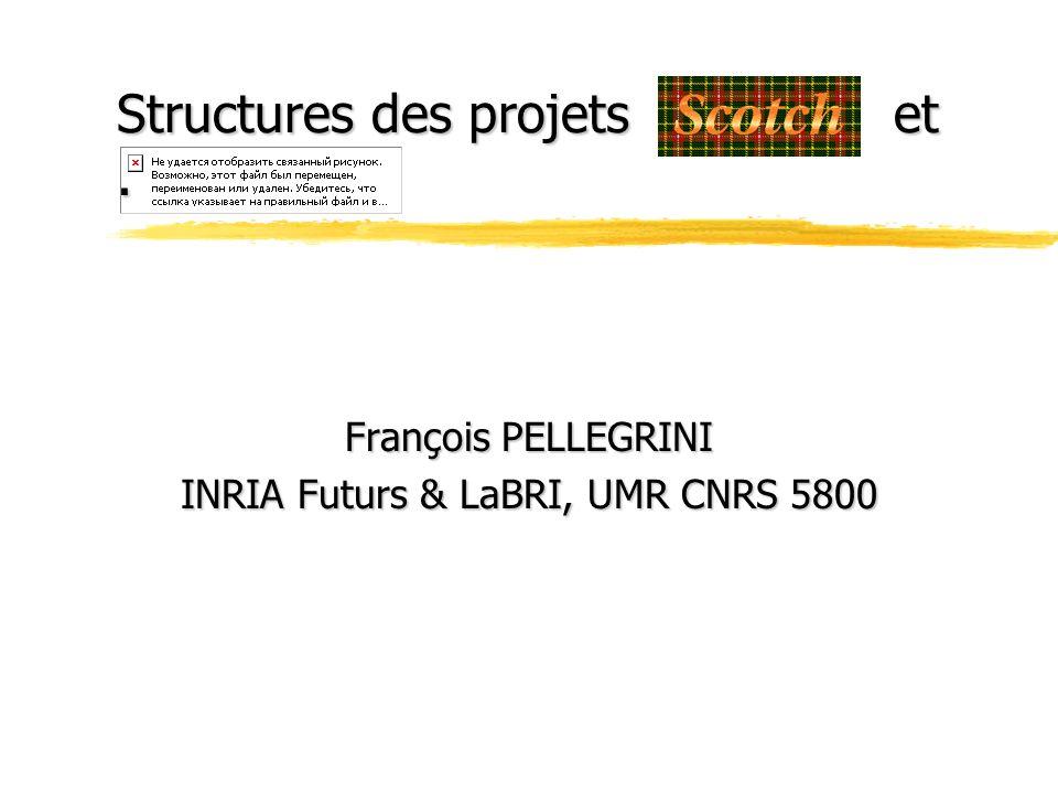 Structures des projets.et.
