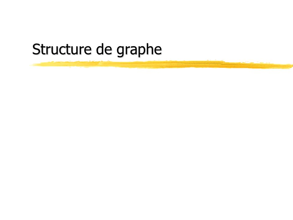 Structure de graphe