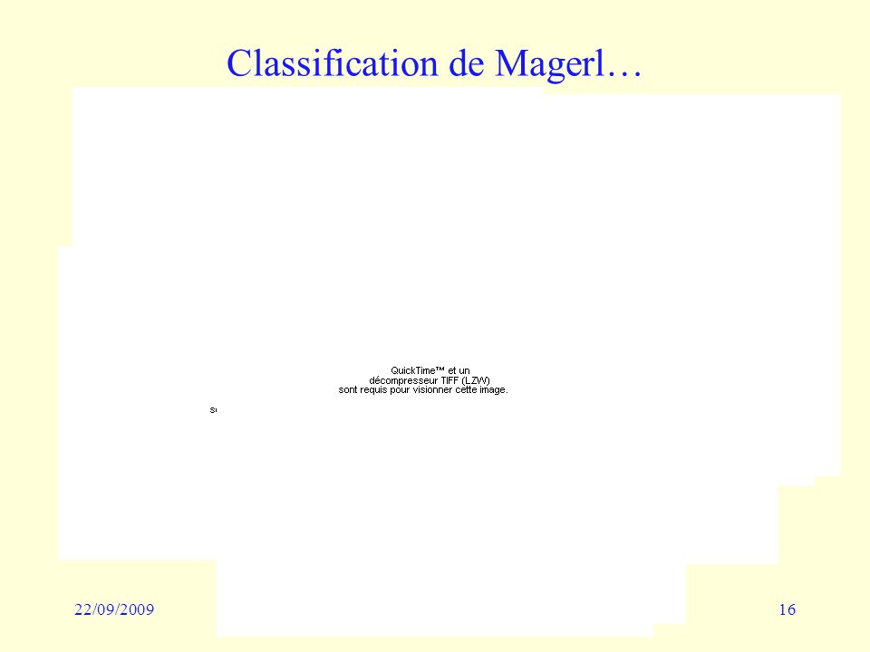 22/09/200916 Classification de Magerl…