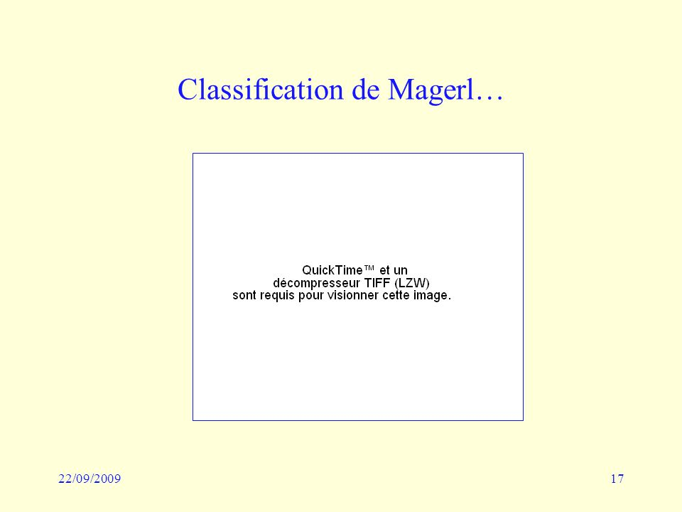 22/09/200917 Classification de Magerl…