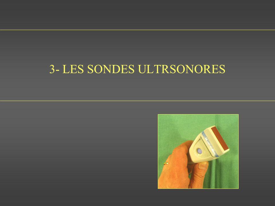 3- LES SONDES ULTRSONORES