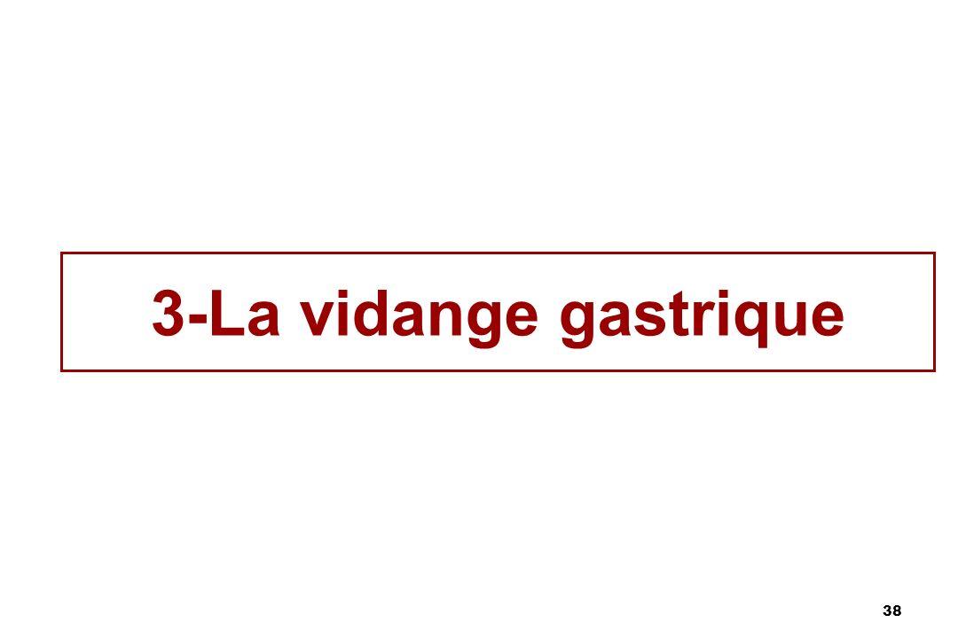 38 3-La vidange gastrique
