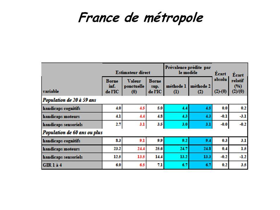 25 France de métropole