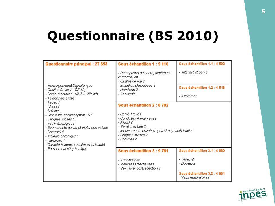 5 Questionnaire (BS 2010)