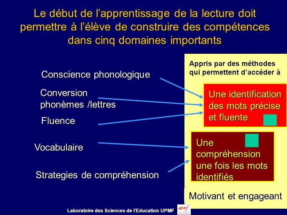 Le langage une fenêtre de développement précoce Laboratoire des Sciences de lEducation UPMF