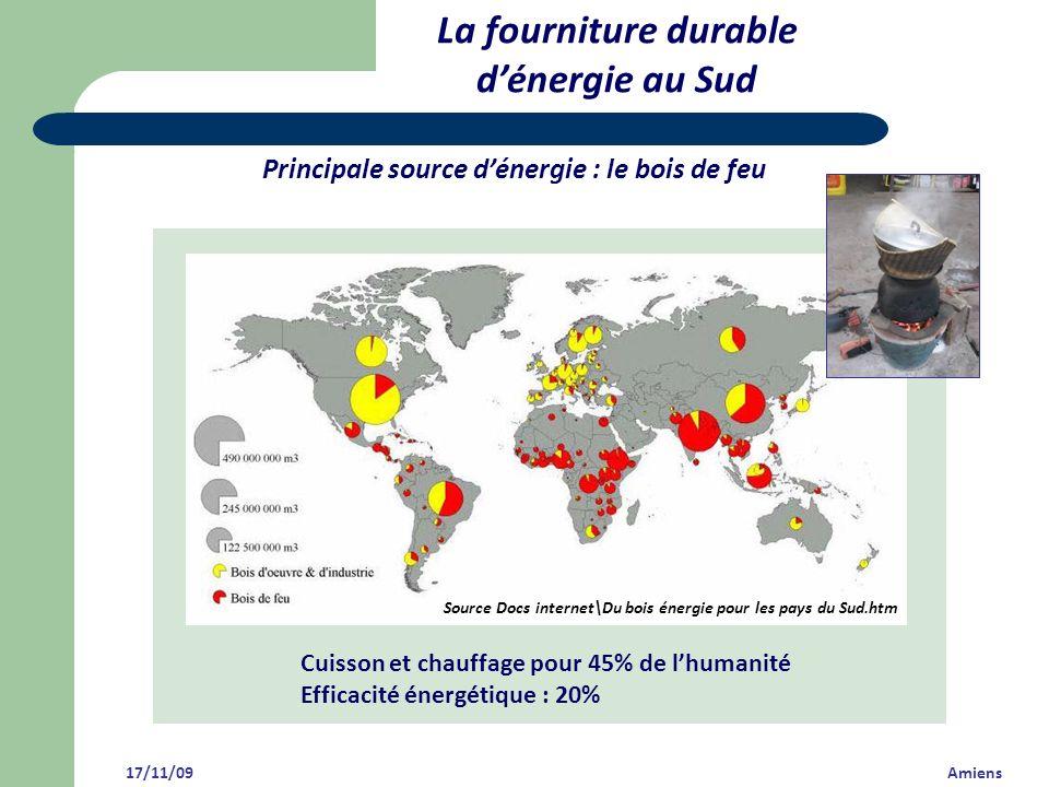 Source Docs internet\Du bois énergie pour les pays du Sud.htm Principale source dénergie : le bois de feu La fourniture durable dénergie au Sud Cuisso
