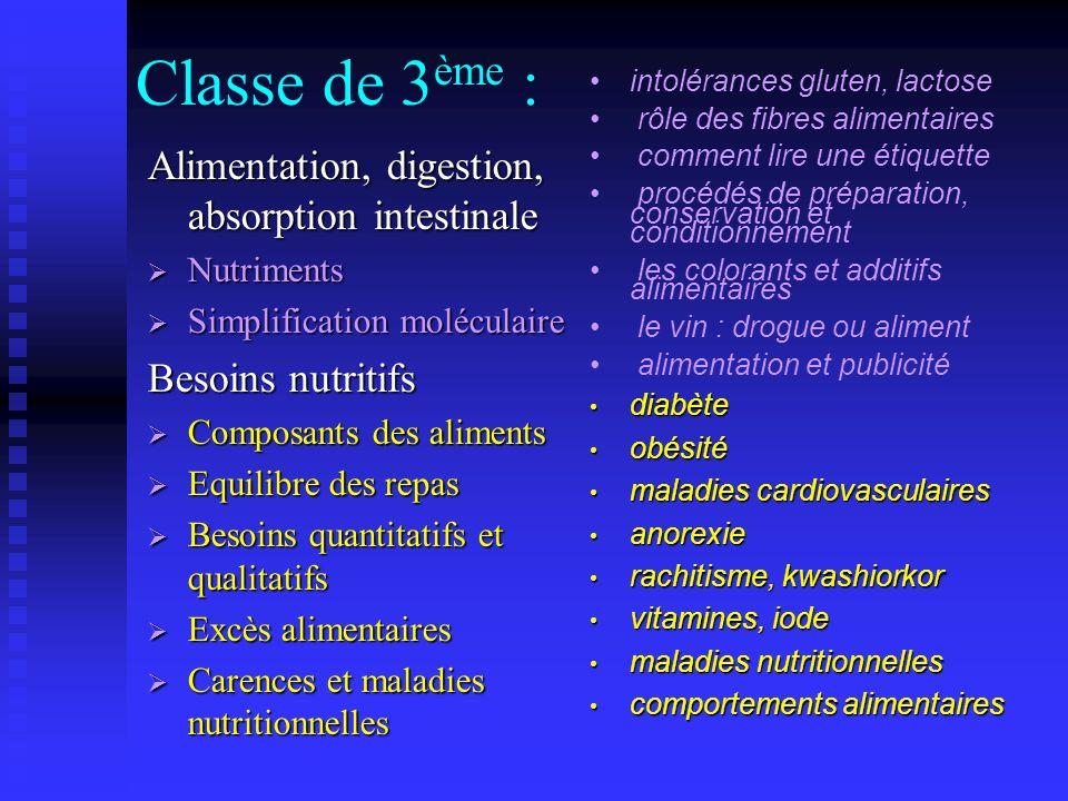En classe de 4 ème : Reproduction Reproduction Les échanges entre fœtus et organisme maternel sont réalisés à travers le placenta Les échanges entre f