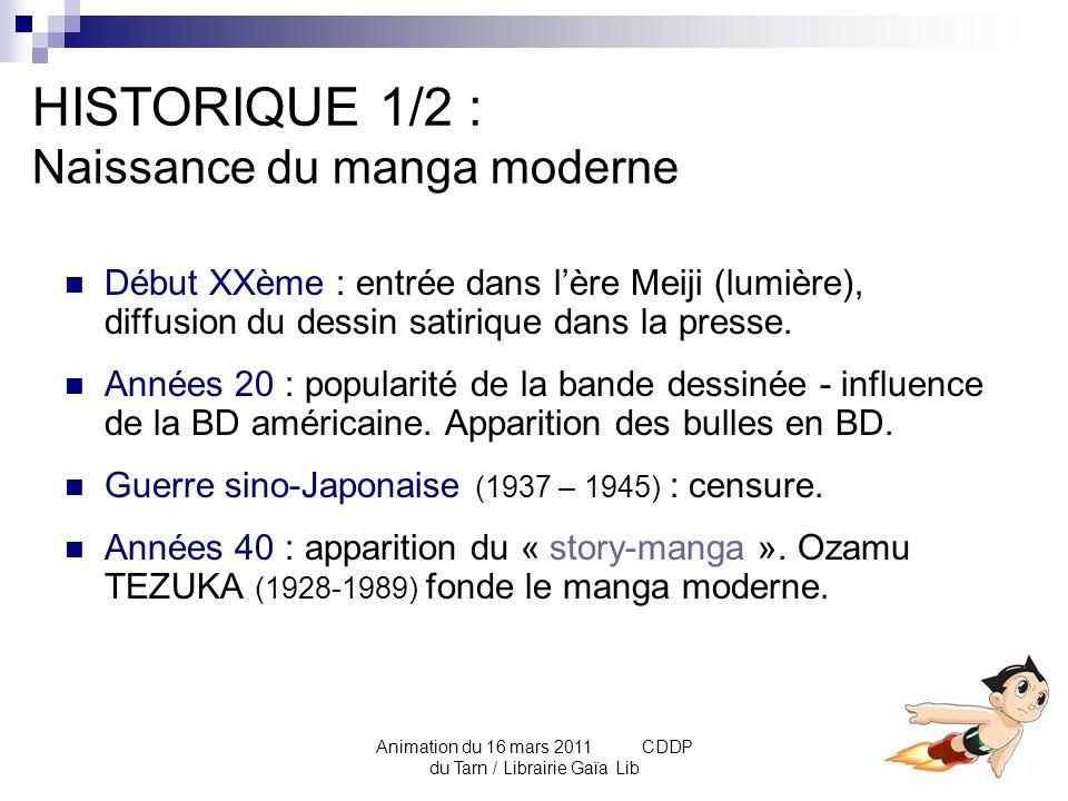 Animation du 16 mars 2011 CDDP du Tarn / Librairie Gaïa Lib Comparaison BD / Manga Blagues de Toto de Thierry COPPEE Quartier lointain de Jiro TANIGUCHI