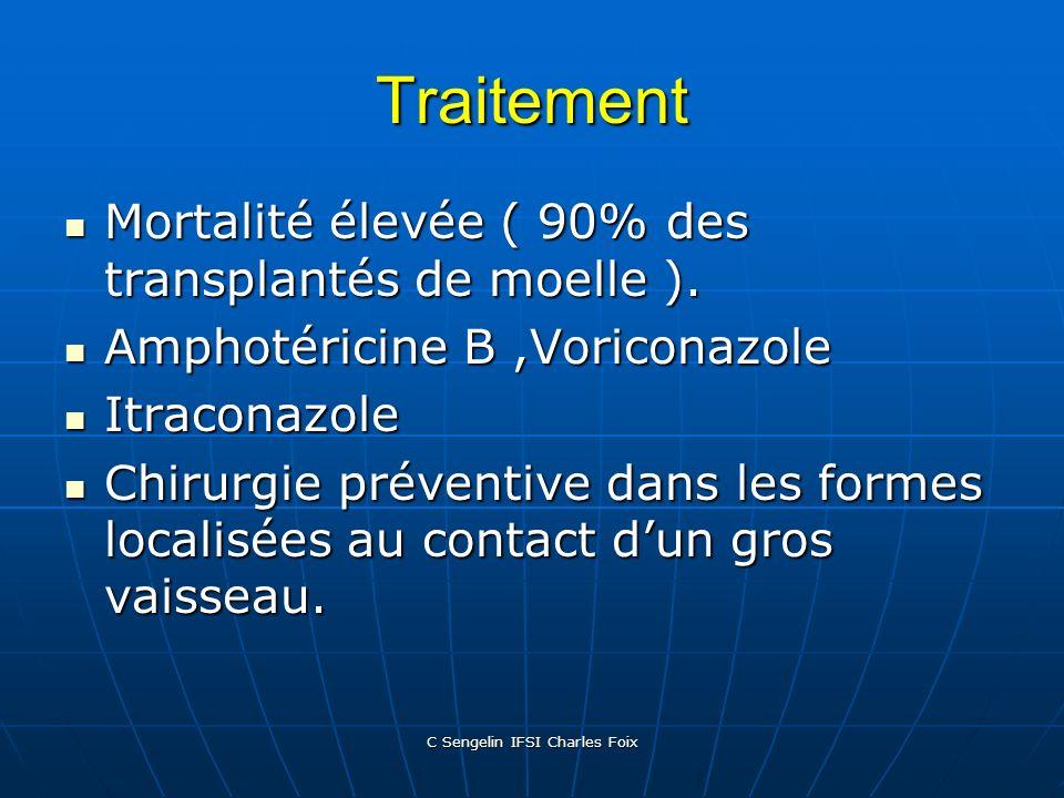 C Sengelin IFSI Charles Foix Eléments du diagnostic Contexte précédent associé à :prélèvements bronchopulmonaires positifs, expectoration positive, an