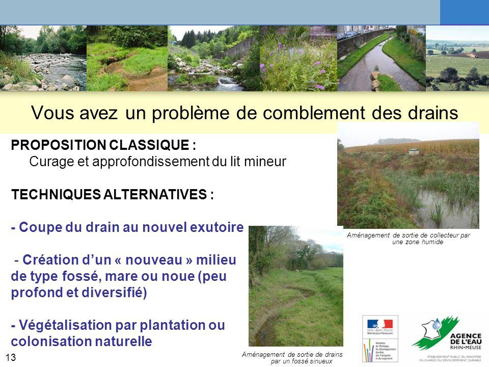 14 Réhabilitation de ruisseaux dégradés (enterrés) Retour dexpérience