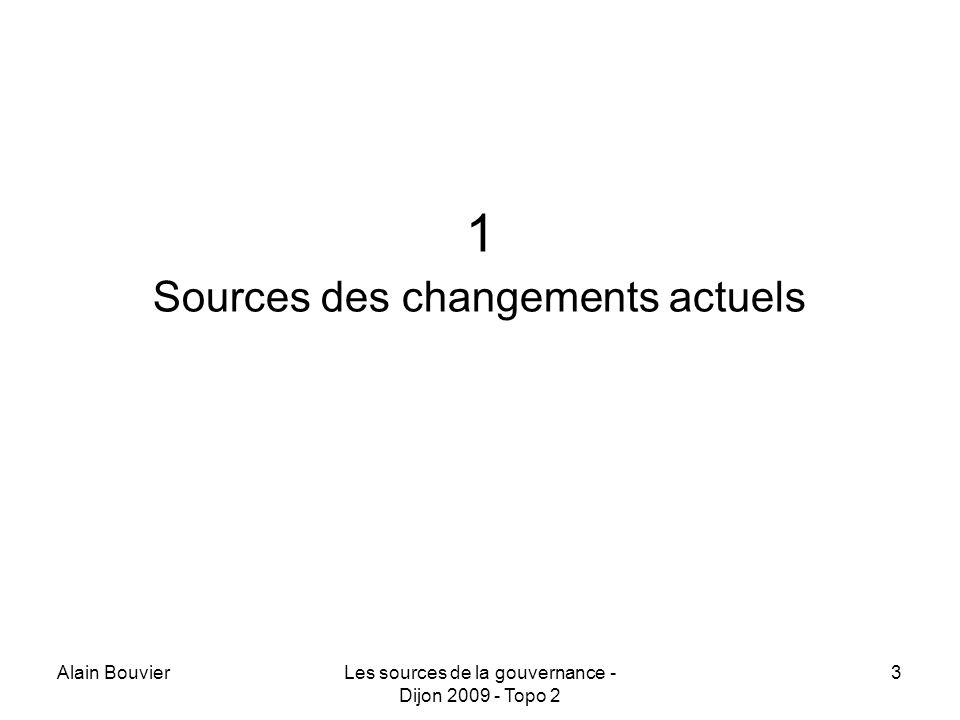 Alain BouvierLes sources de la gouvernance - Dijon 2009 - Topo 2 34 Sajoute un effet de la « culture-LOLF » Responsabilité Indicateurs Performances