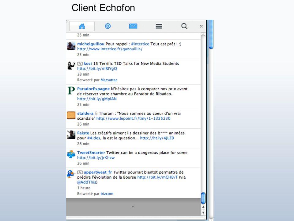 CHUUTTT!! Messages privés Client TweetDeck