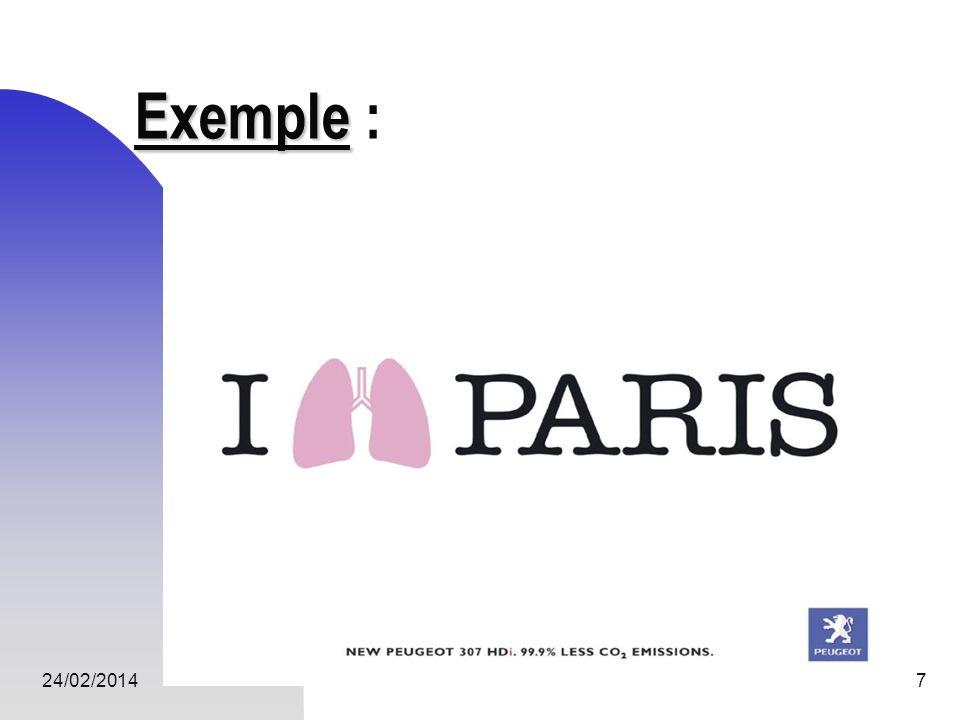 24/02/20148 Analyser une publicité Sintéresser à tous les éléments de limage permettant de comprendre les notions véhiculées.