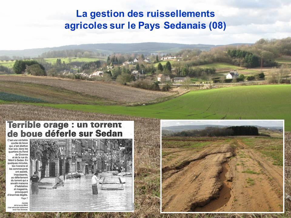 La gestion des ruissellements agricoles sur le Pays Sedanais (08)