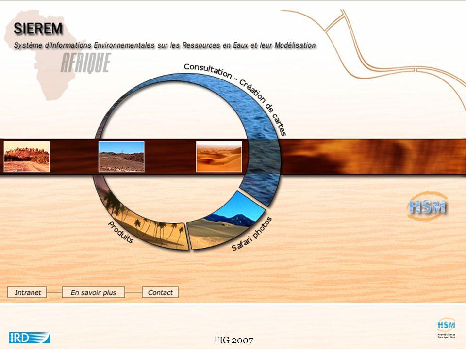 FIG 2007 Principales fenêtres dORION.
