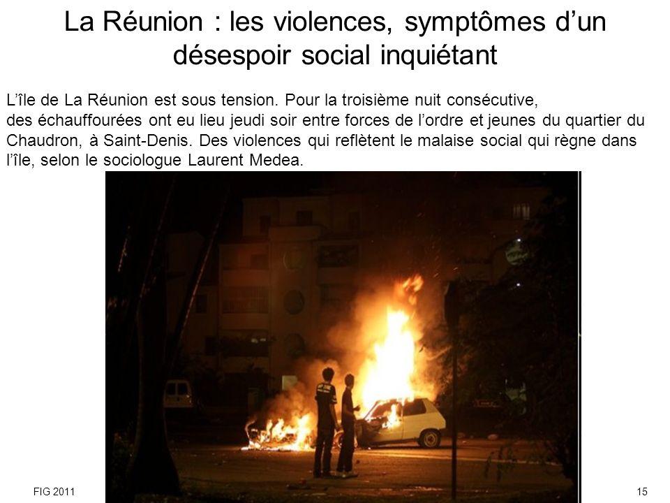 Jets de cailloux, bombes assourdissantes, gaz lacrymogènes, les violences qui touchent le quartier du Chaudron et bien dautres quartiers de lîle ont lieu pour lheure essentiellement la nuit.
