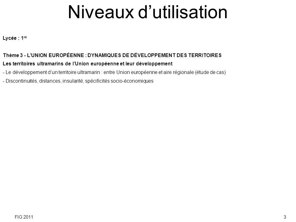 1. Diapositives 5 et 6 Localisez La Réunion à différentes échelles. FIG 20114