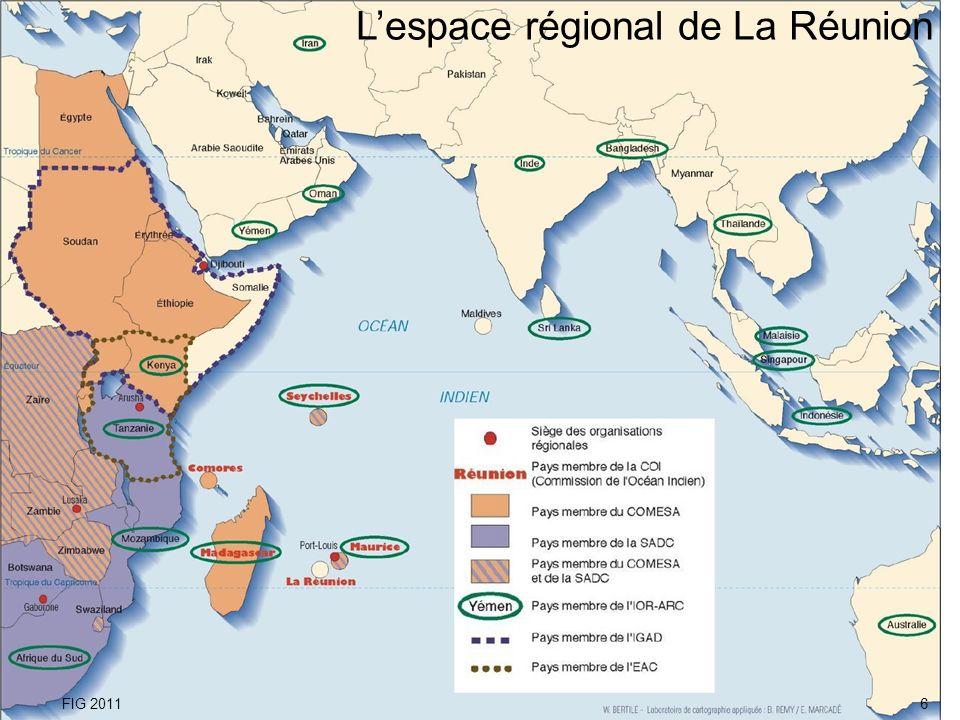 Lespace régional de La Réunion FIG 20116