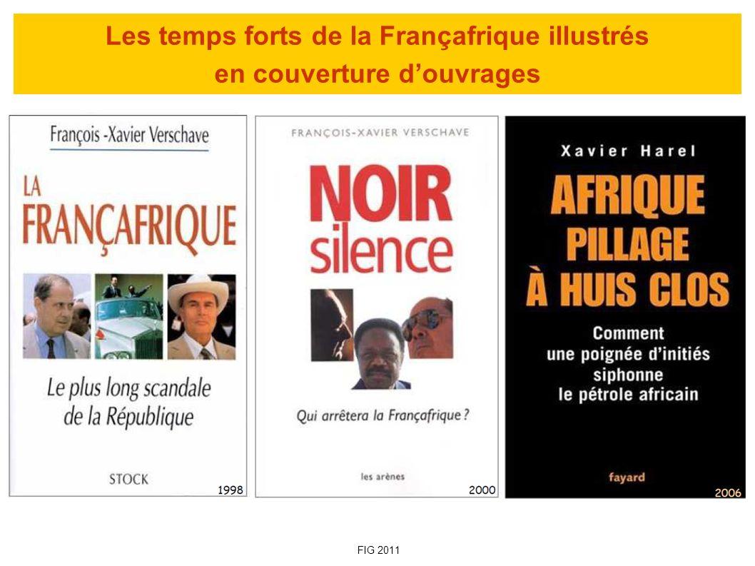 Quand la Chinafrique surclasse la Françafrique « Photo de famille » du sommet Chine-Afrique de novembre 2006 à Pékin (Photo : AFP) - Multiplication par 50 du commerce entre la Chine et lAfrique entre 1980 et 2005 - Depuis 2009, la Chine est le deuxième partenaire commercial de lAfrique (après les USA et la France) - Le volume des échanges sino-africains est plus du double des échanges franco-africains - L Afrique compte entre 750 000 et 1 100 000 Chinois (110 000 Français) - 33 % des importations pétrolières chinoises viennent dAfrique FIG 2011