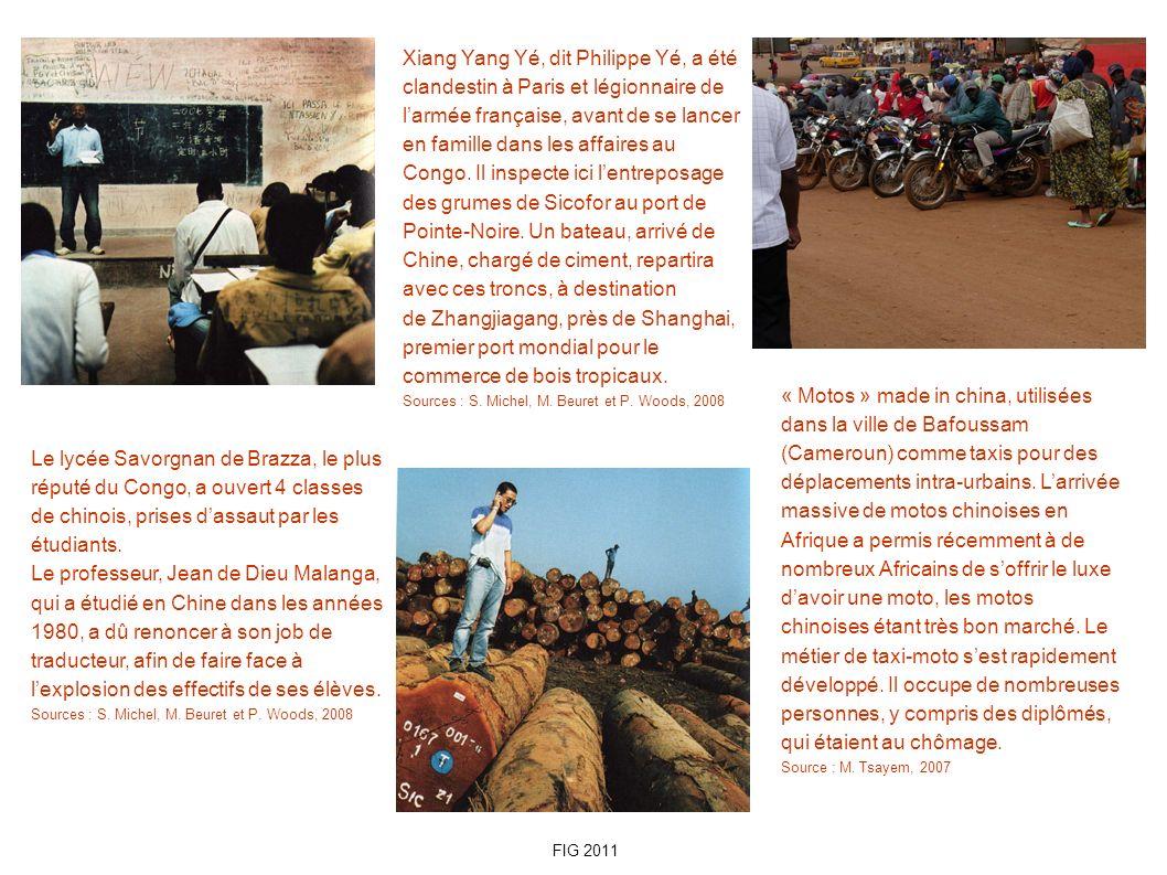 Le lycée Savorgnan de Brazza, le plus réputé du Congo, a ouvert 4 classes de chinois, prises dassaut par les étudiants. Le professeur, Jean de Dieu Ma