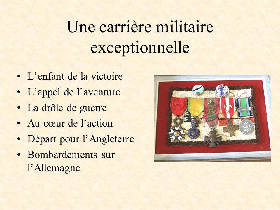 Commandant Edouard JACQUEMIN Commandeur de la Légion dHonneur Entretien