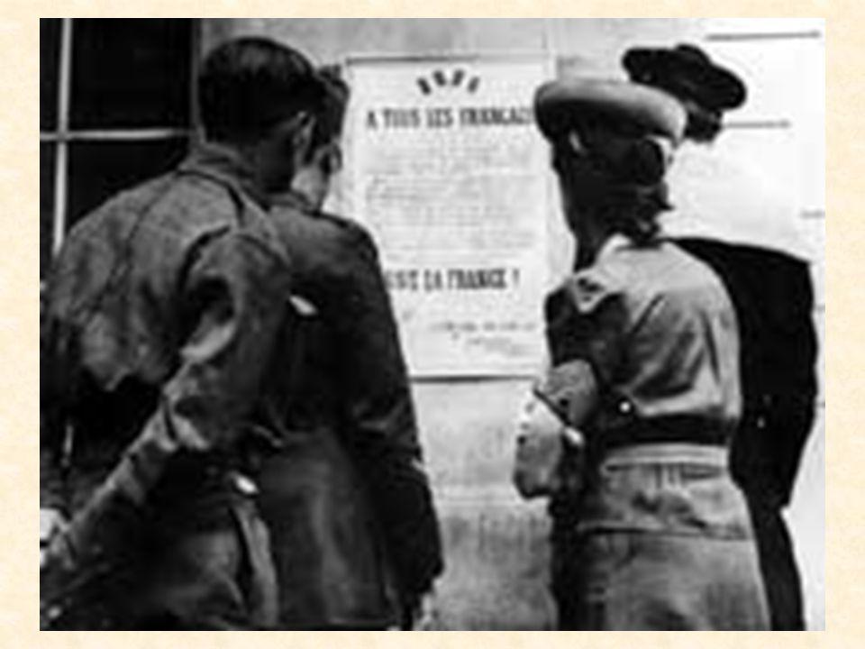 La déclaration de guerre Cest alors que la guerre a été déclarée. Au départ, il eut ce quon appelait la « drôle de guerre ». La guerre était déclarée