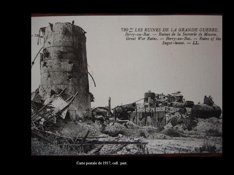 Carte postale de 1917, coll. part.Carte postale