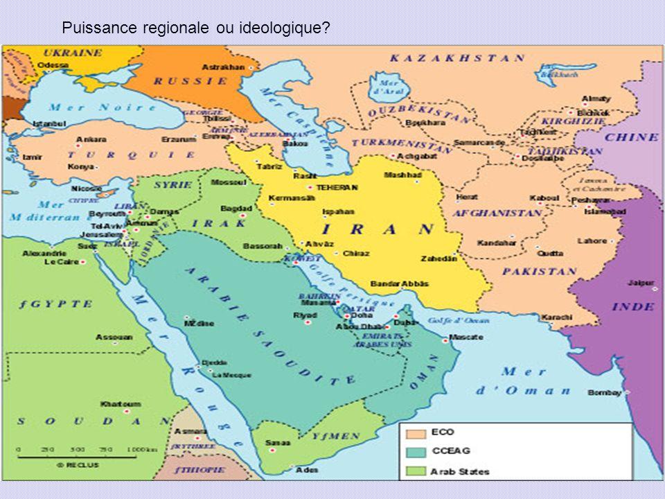 Puissance regionale ou ideologique?