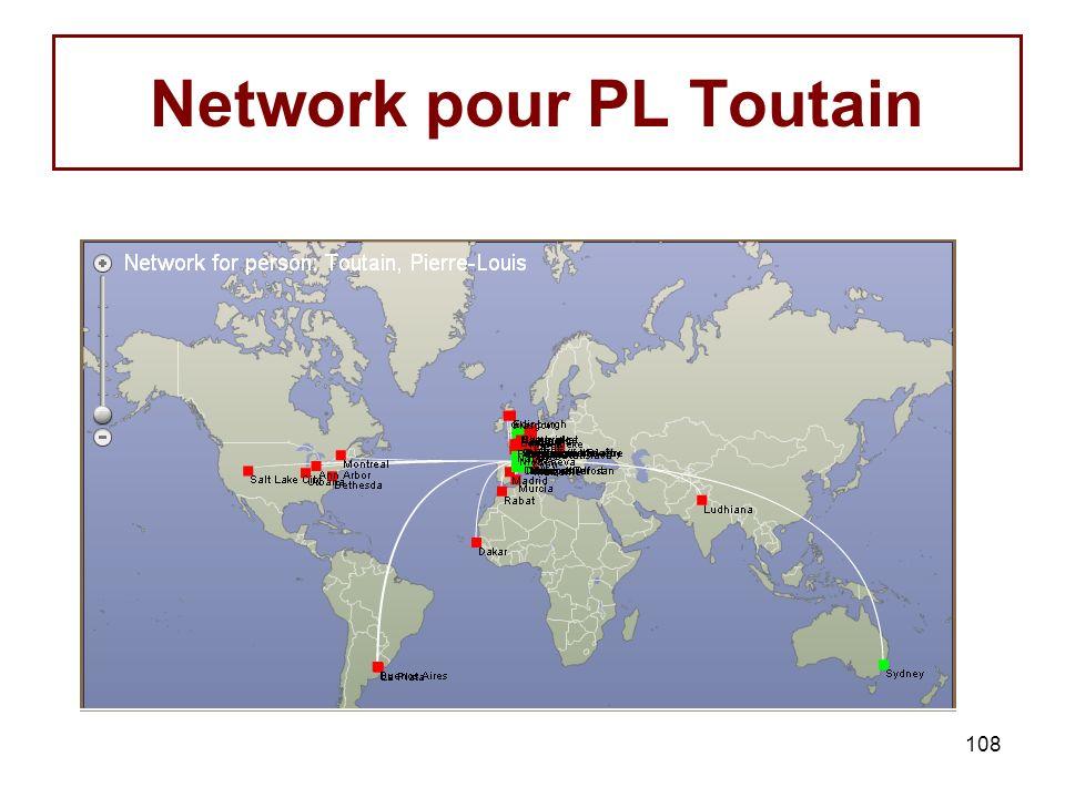 108 Network pour PL Toutain