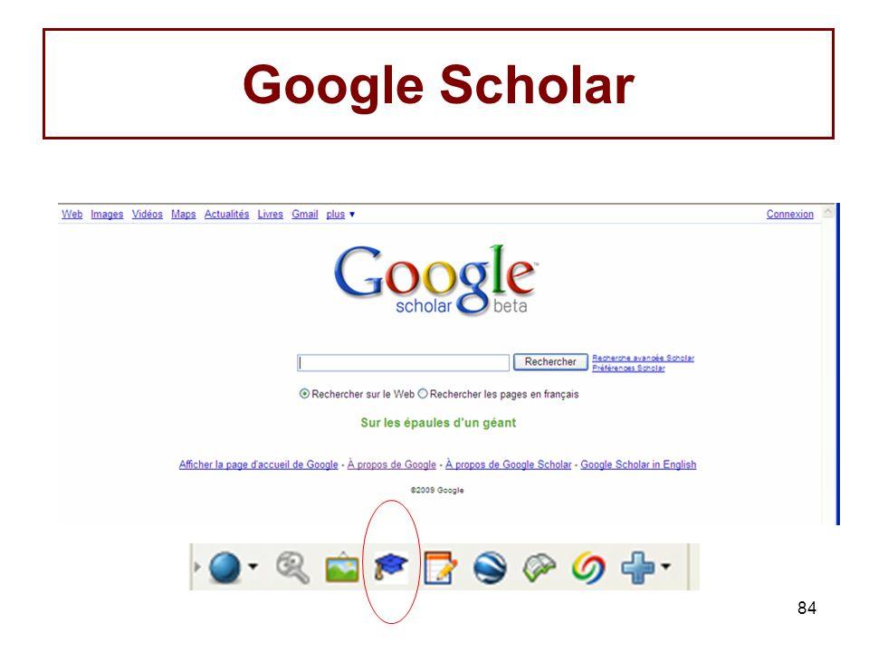 84 Google Scholar