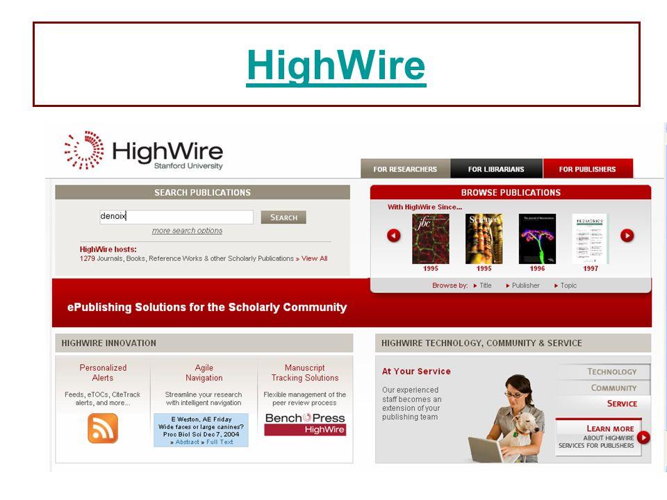 89 HighWire